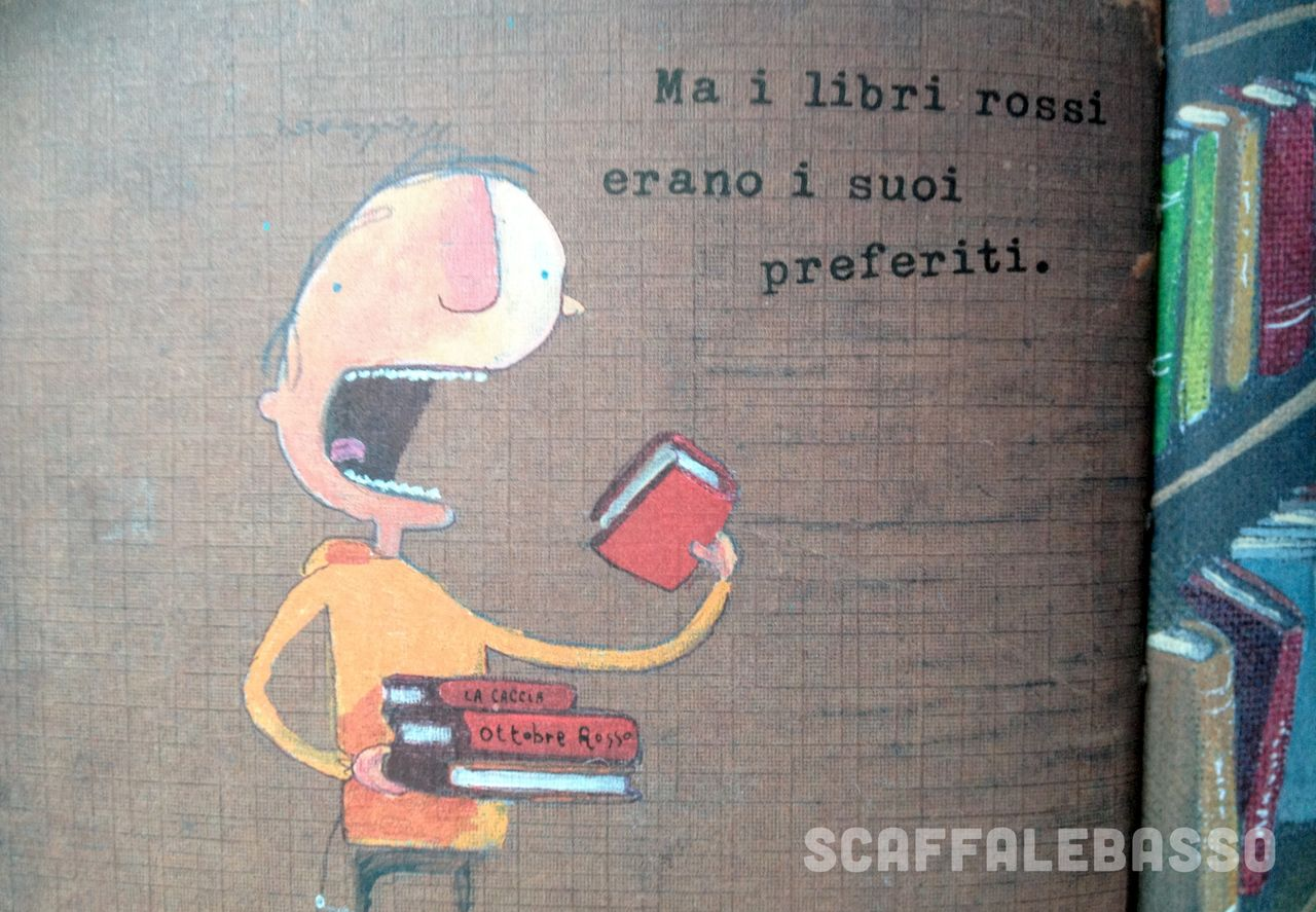 Oliver Jeffers, L'incredibile bambino mangialibri, Zoolibri