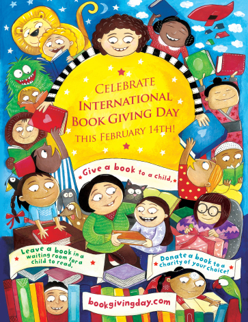 International Book Giving Day 2014