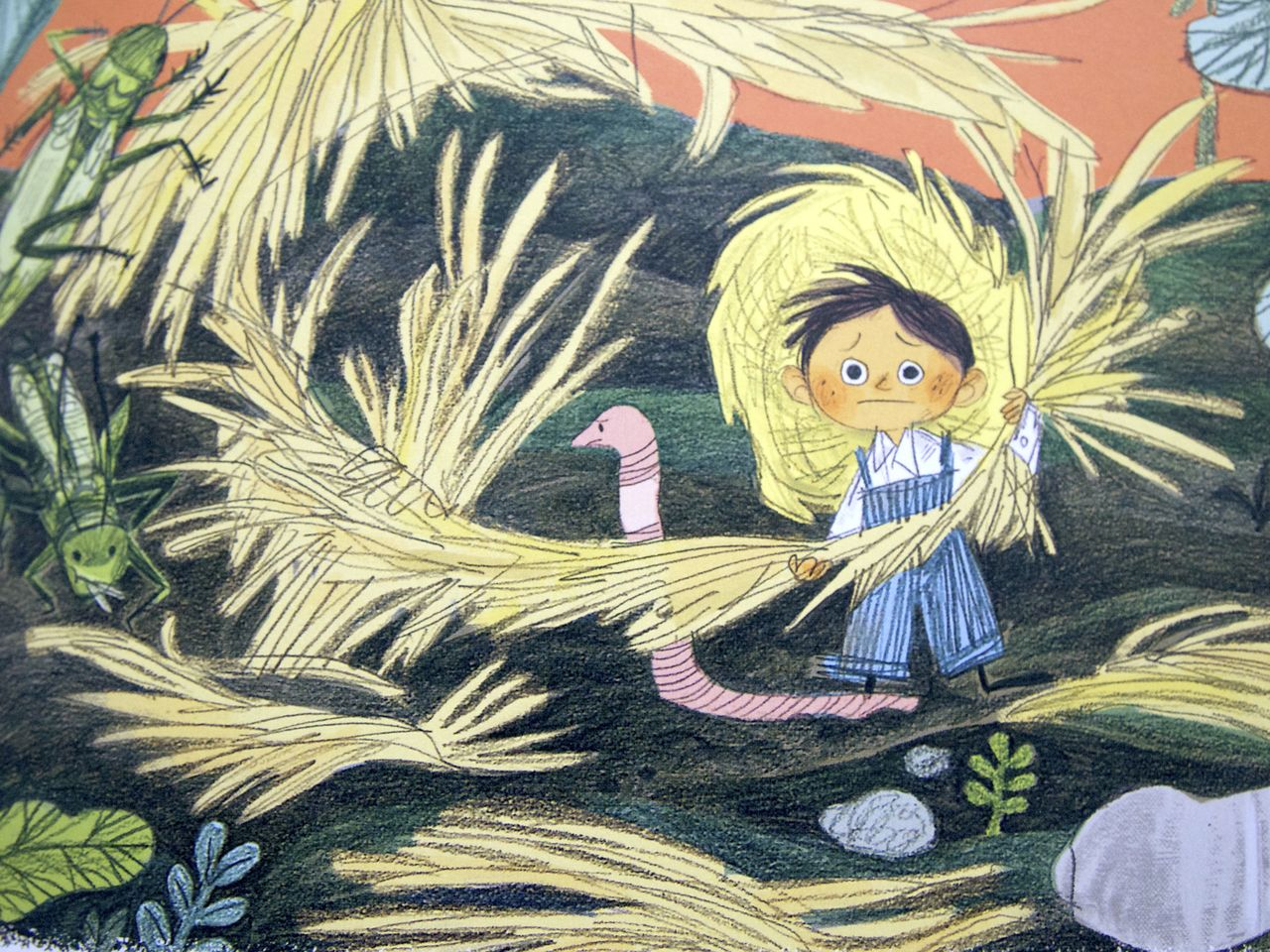 Emily Hughes, The little gardener, Flying Eye Books