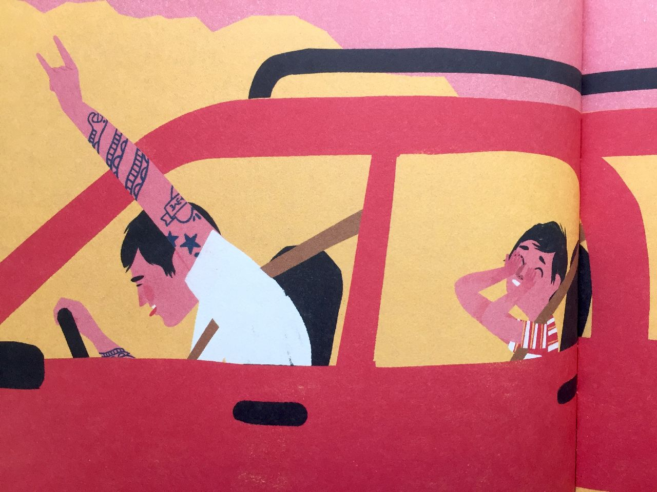 Keith Negley, My dad used to be so cool, Flying Eye books