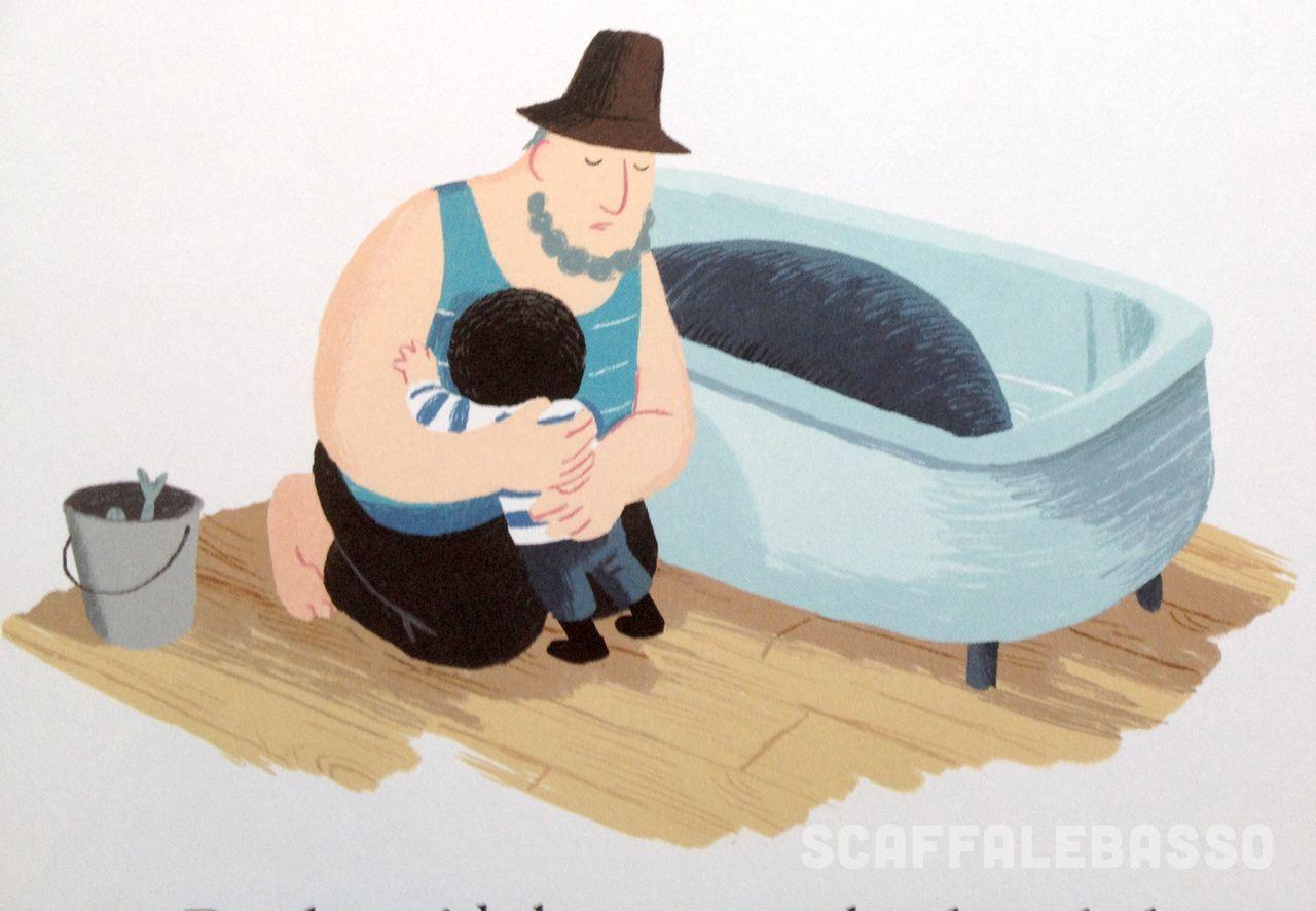 Benji Davies, La balena della tempesta, Giralangolo