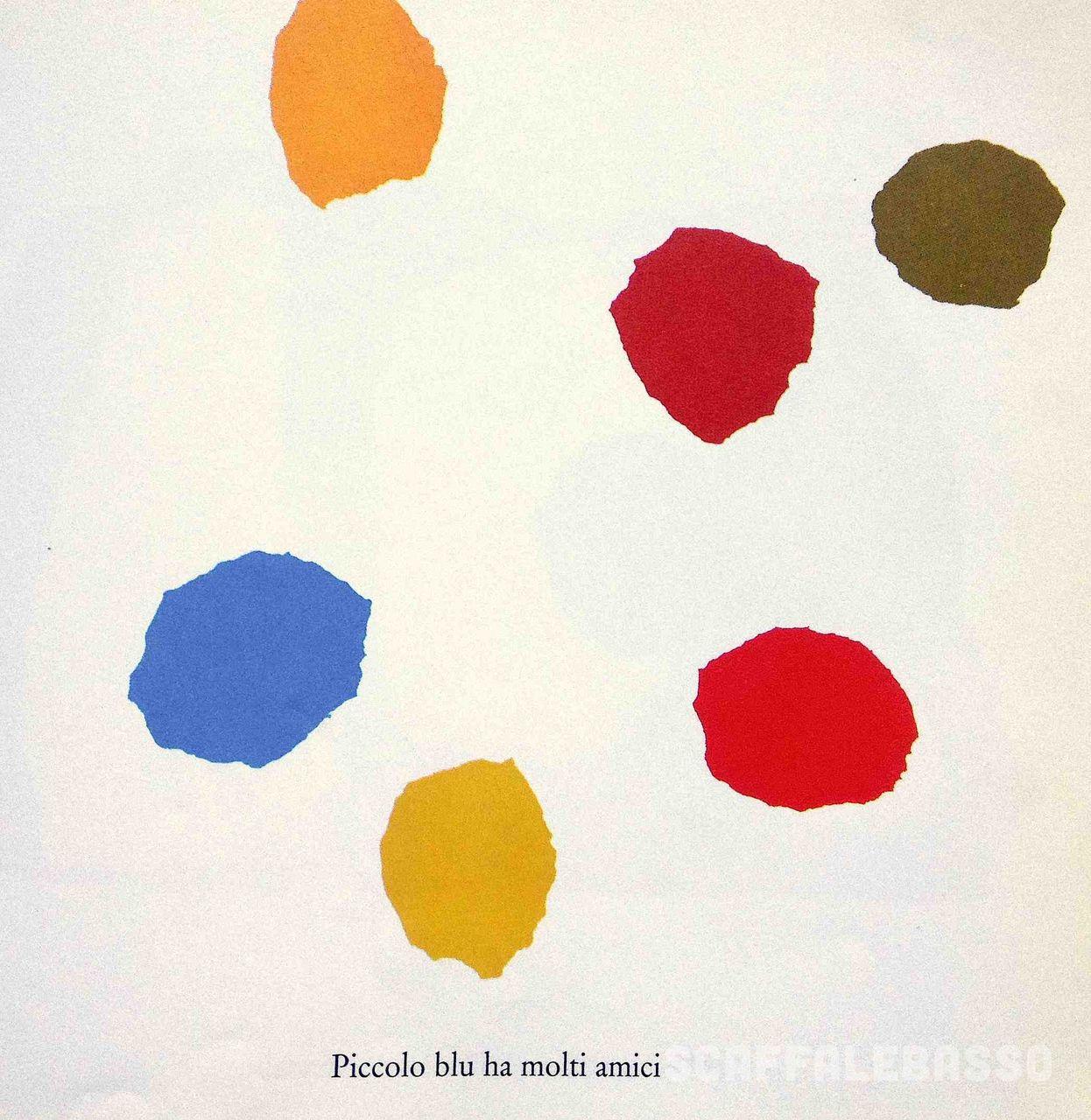Leo Lionni, Piccolo blu e piccolo giallo, Babalibri