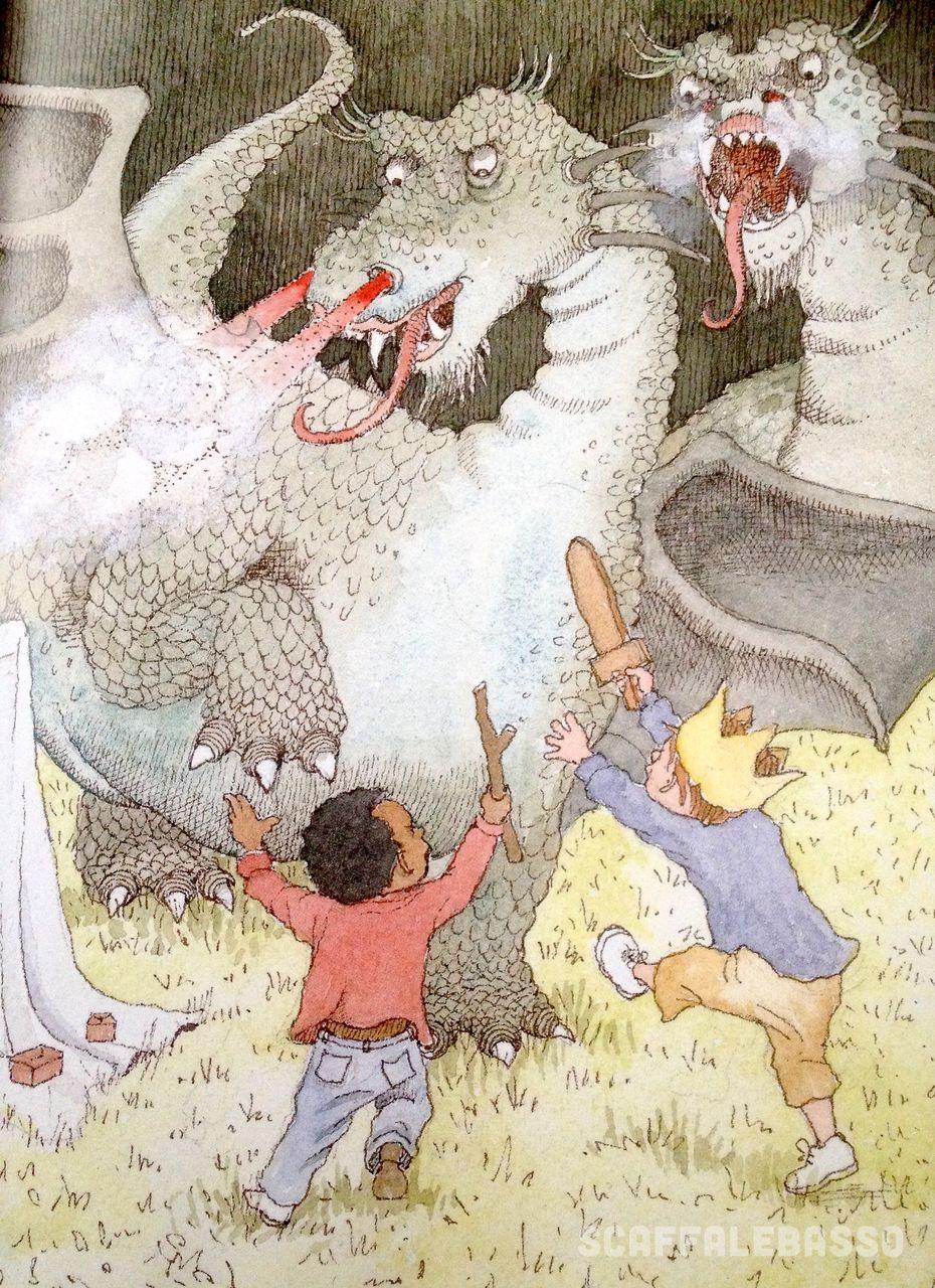 Bently Oxenbury, Valdo e il drago, Il castoro