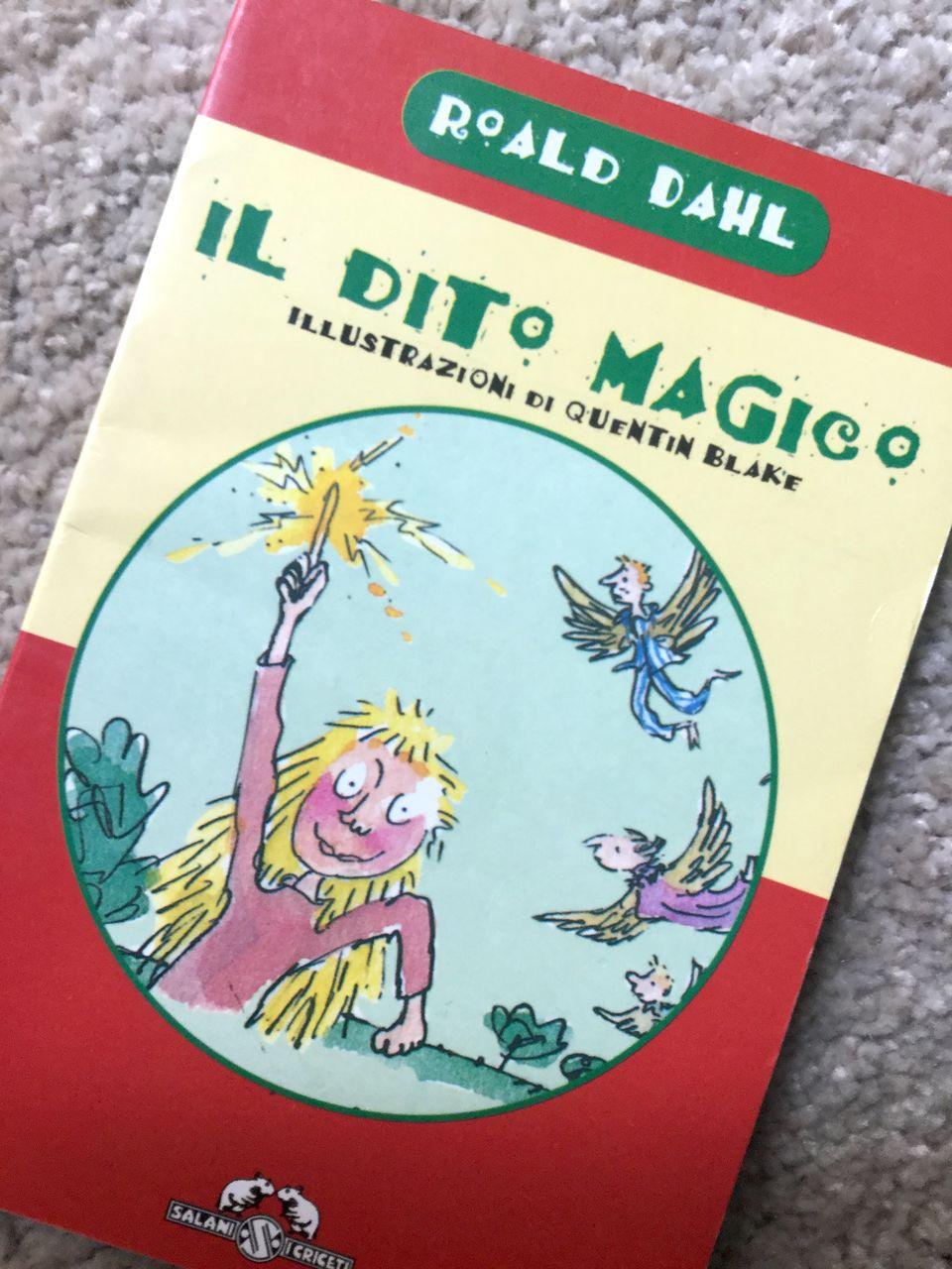 Roald Dahl, Il dito magico, Salani