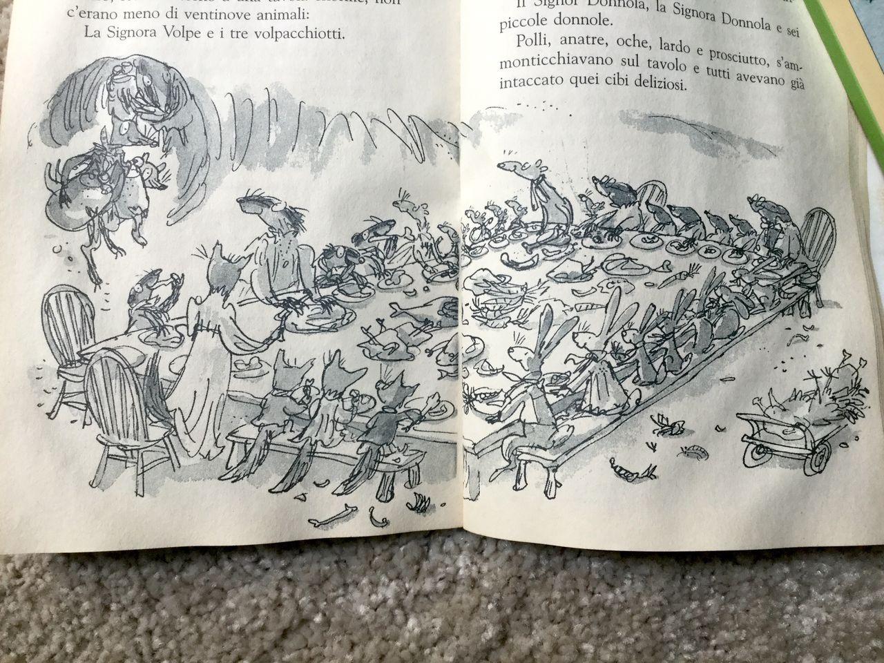 Roald Dahl, Furbo, signor volpe, Salani