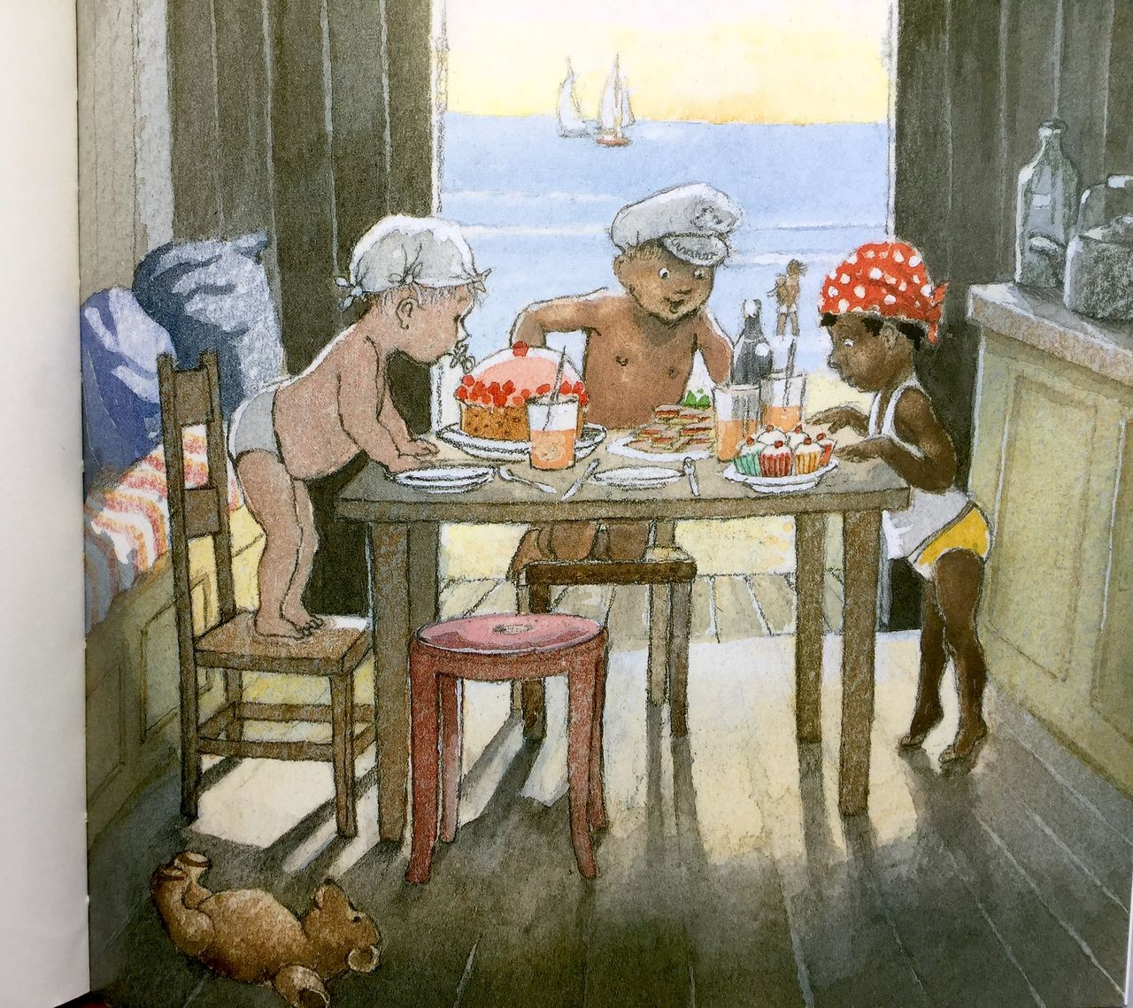 Bently Oxenbury, Tre piccoli pirati, Mondadori