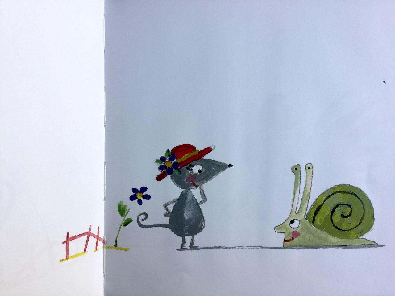 Eric Battut, Il cappello di Topolina, Bohem