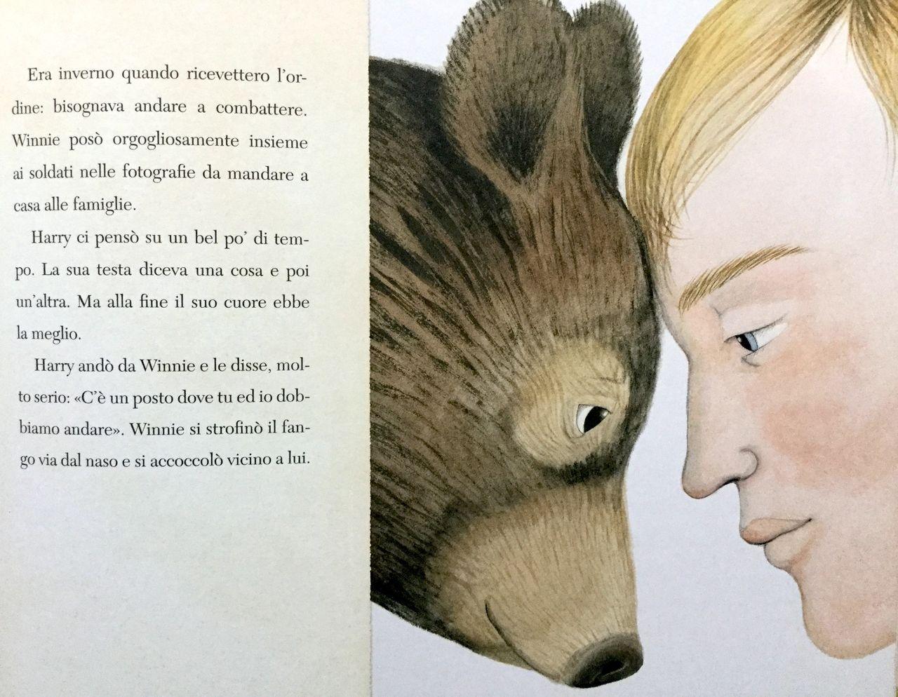 L. Mattick - S. Blackall, La vera storia dell'orso Winnie, Mondadori