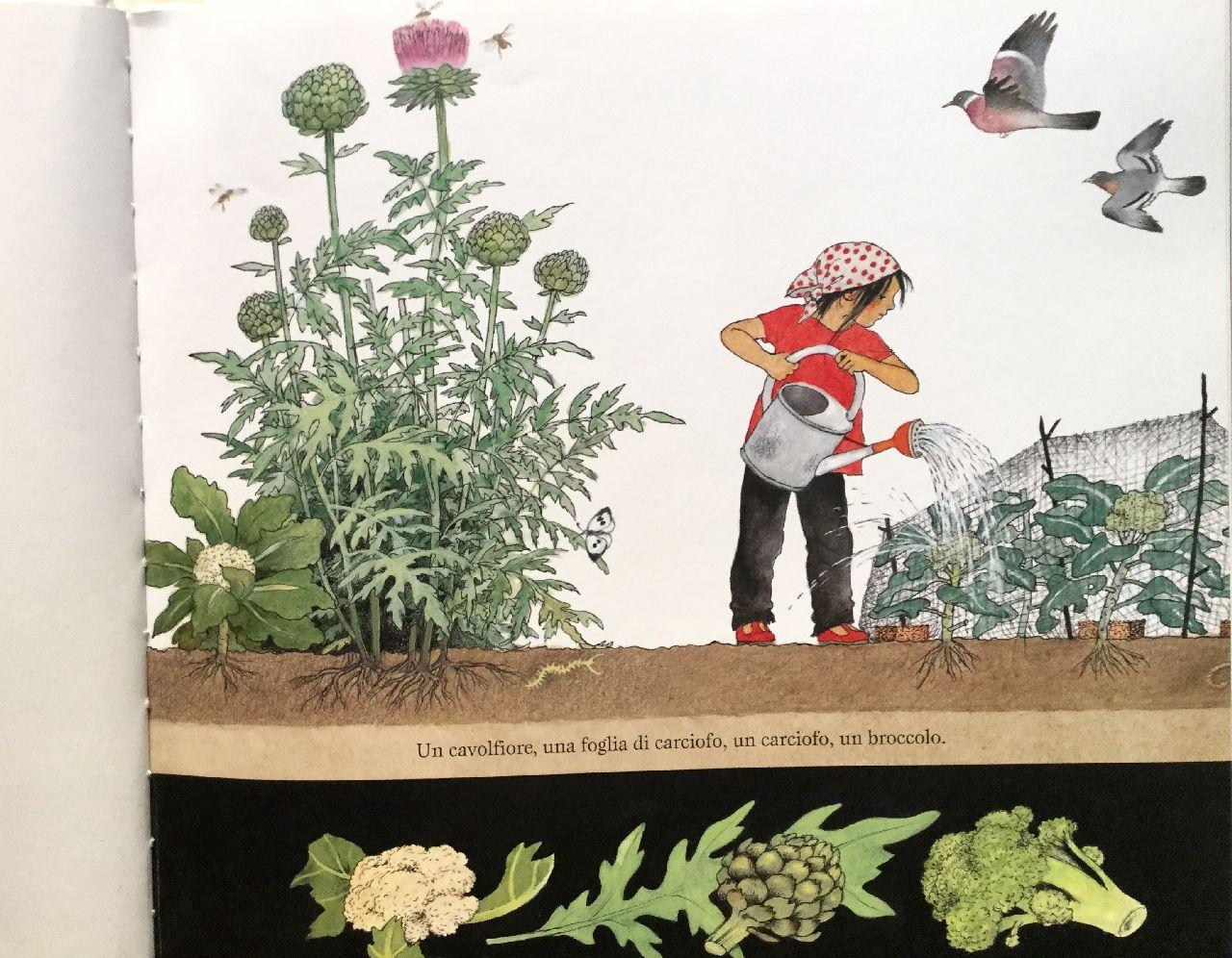 Gerda Muller, La vita segreta dell'orto, Babalibri