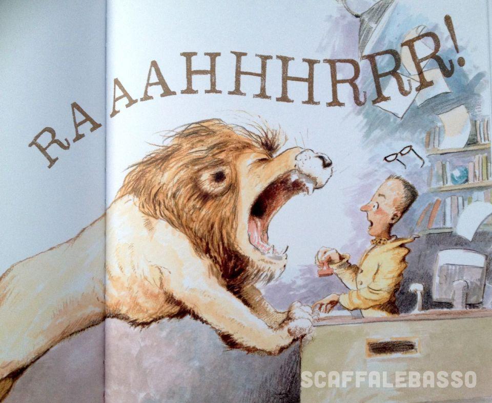 Michelle Knudsen - Kevin Hawkes, Il leone in biblioteca, Nord sud