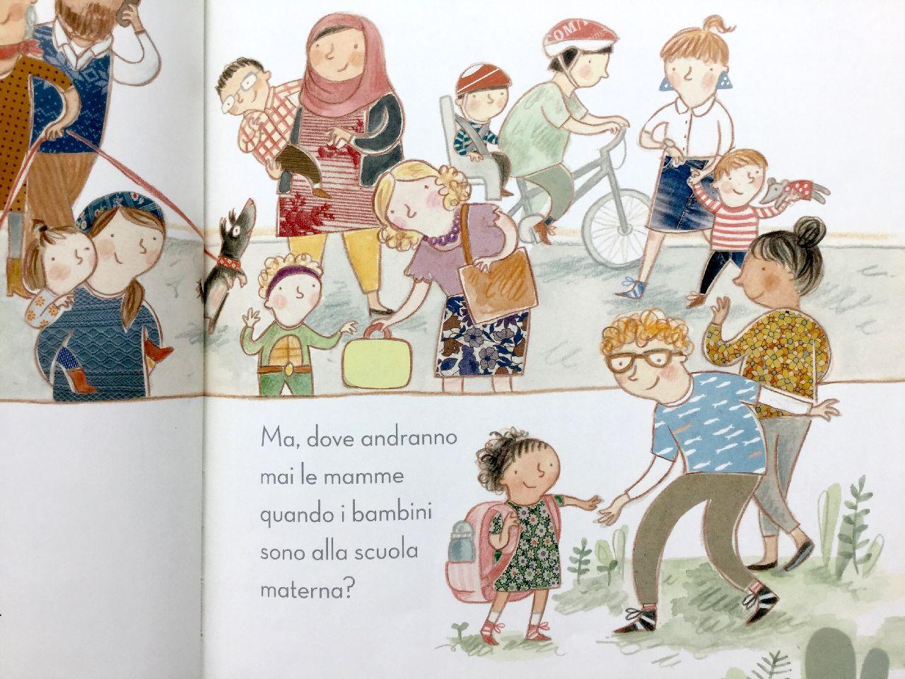 Gleeson Rudge, Che cosa fanno le mamme..., La Margherita