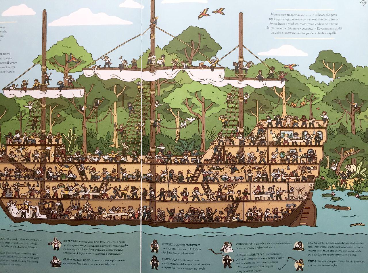 David Long - Harry Bloom, Occhio ai pirati, L'ippocampo