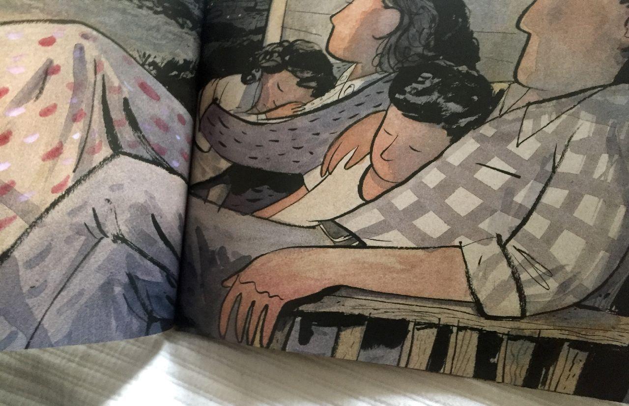 Joanne Schwartz - Sydney Smith, Town is by the sea, Walker Books