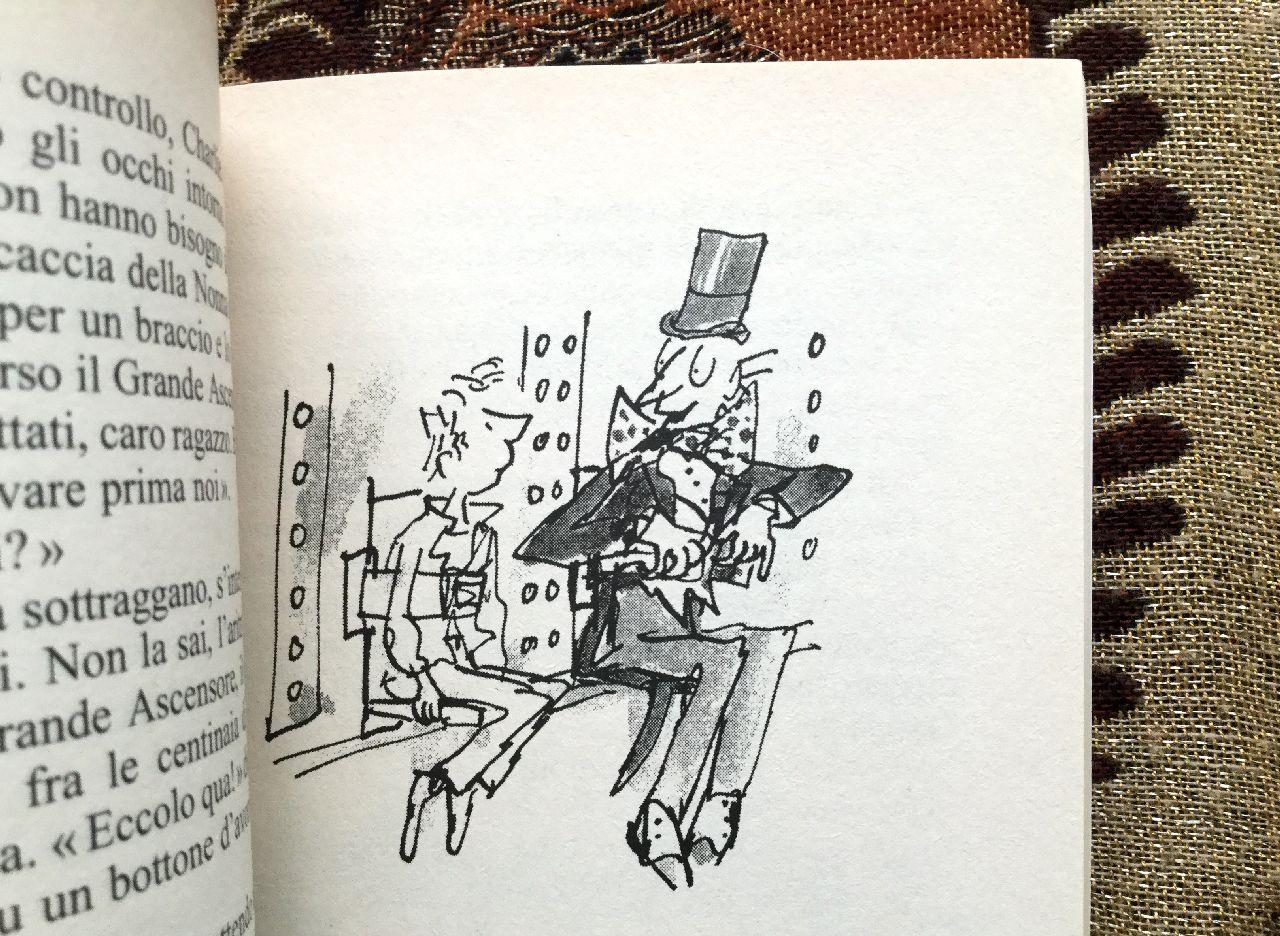 Roald Dahl, L'ascensore di cristallo, Salani