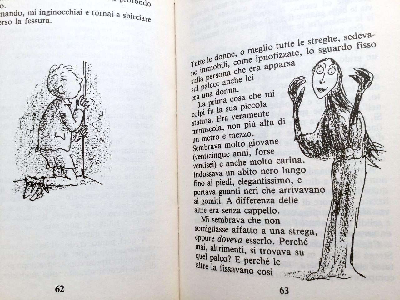 Roald Dahl, Le streghe, Salani