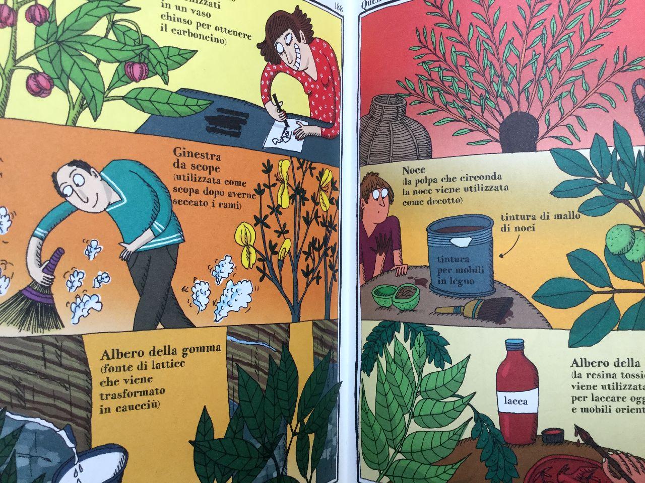 Adrienne Barman, La strana enciclopedia vegetale, Rizzoli