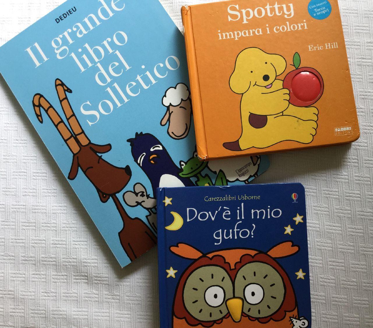 Libri tattili - Scaffale Basso