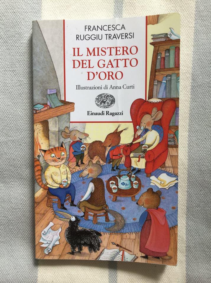 Francesca Ruggiu Traversi, Il mistero del gatto d'oro, Einaudi.
