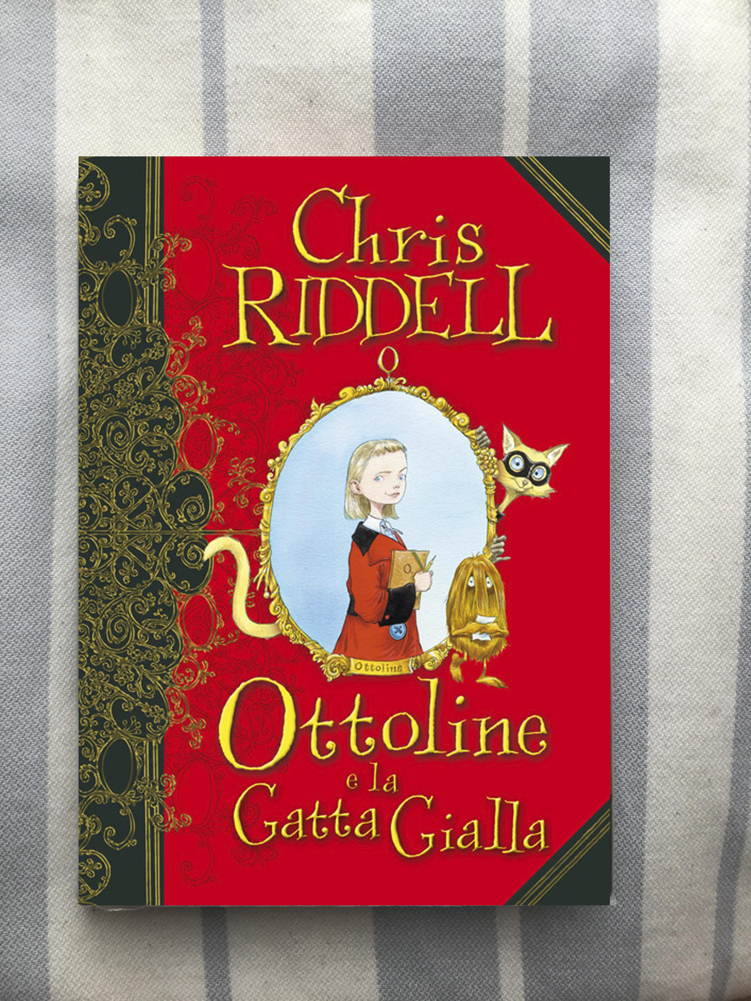 Chris Riddell, Ottoline e la Gatta Gialla, Il Castoro
