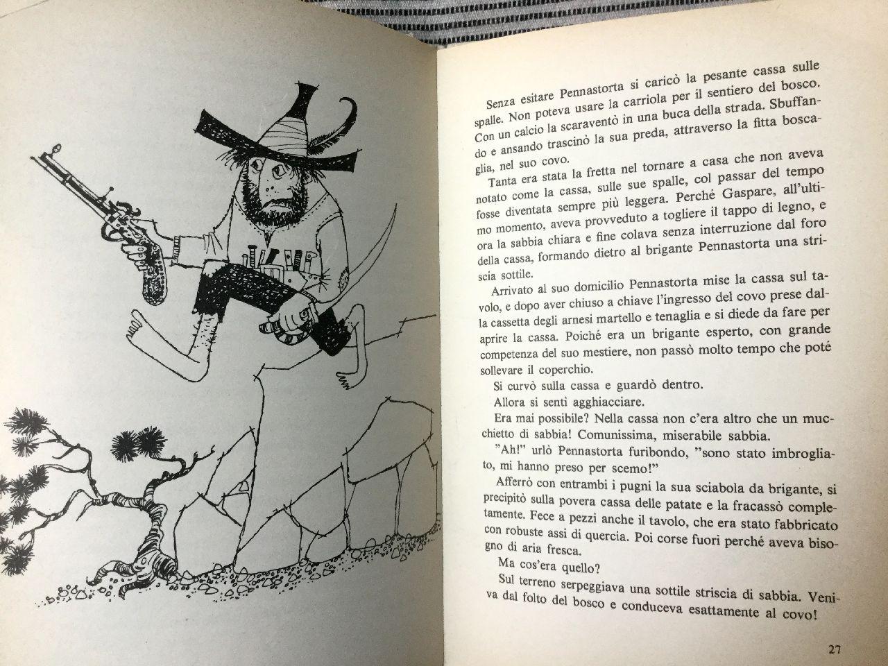 Otfried Preussler,Il brigante Pennastorta, Rizzoli