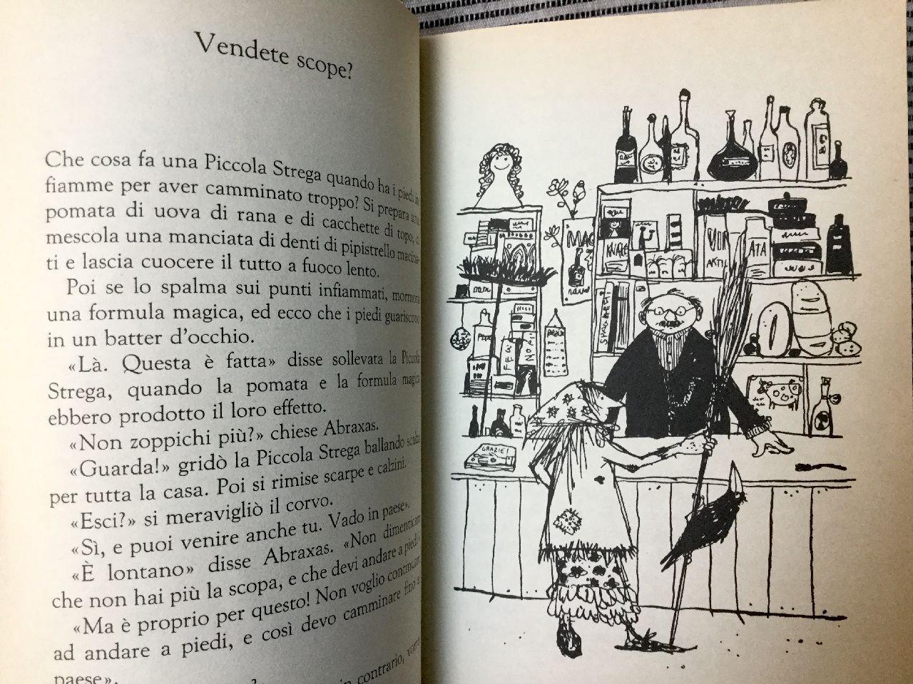 Otfried Preussler, La piccola strega, Salani