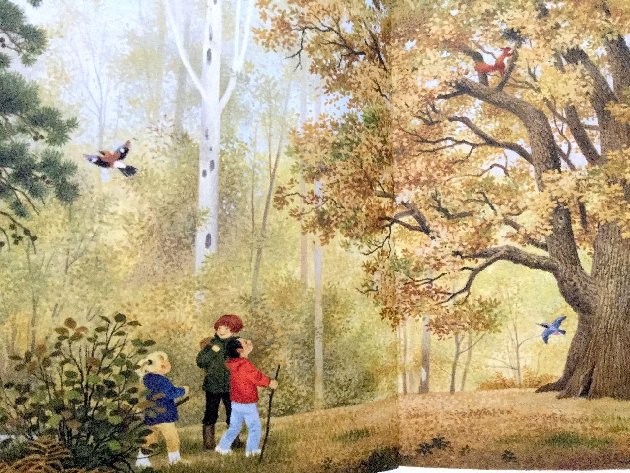 Gerda Muller, La grande quercia, Natura e cultura