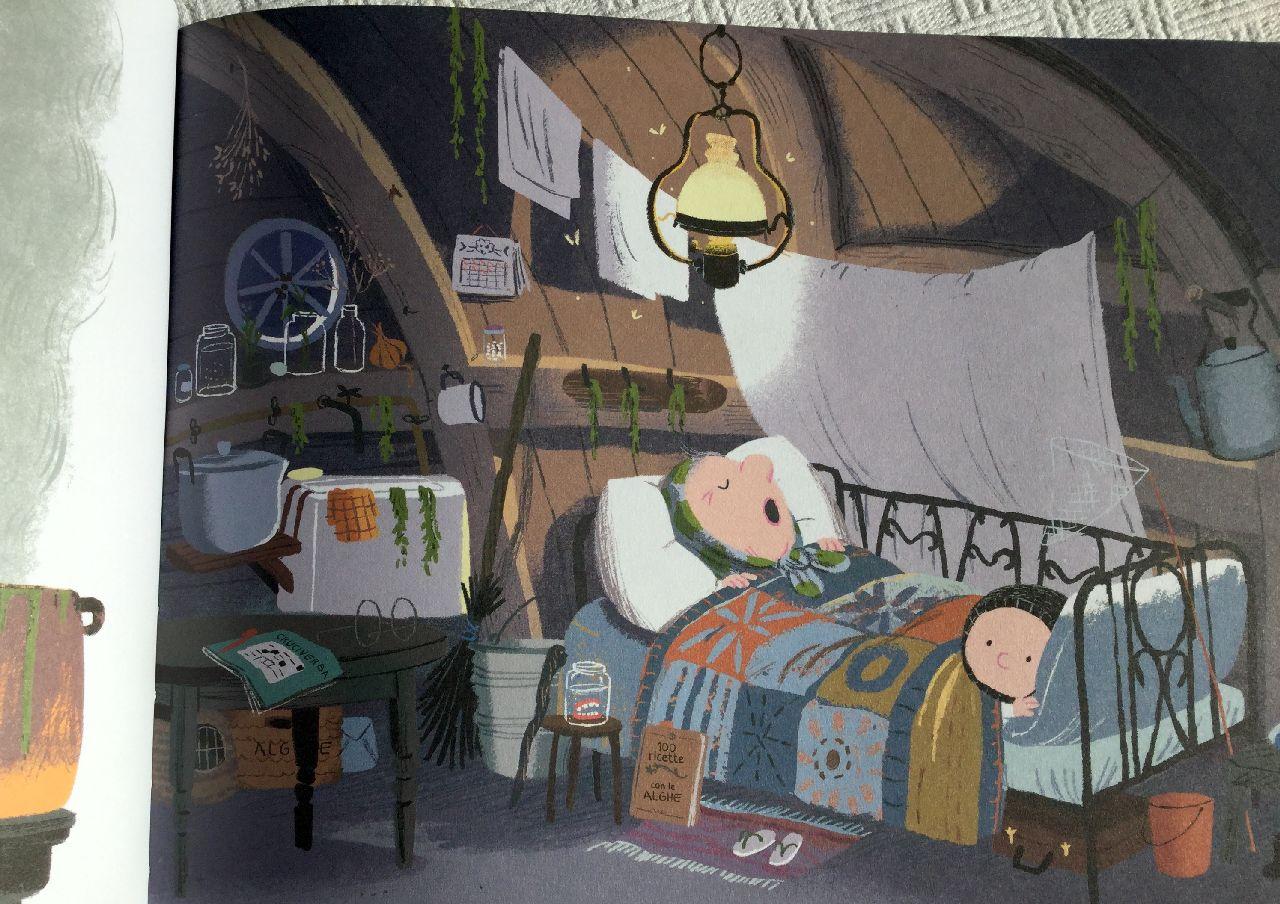 Benji Davies, Un'estate dalla nonna, Il giralangolo