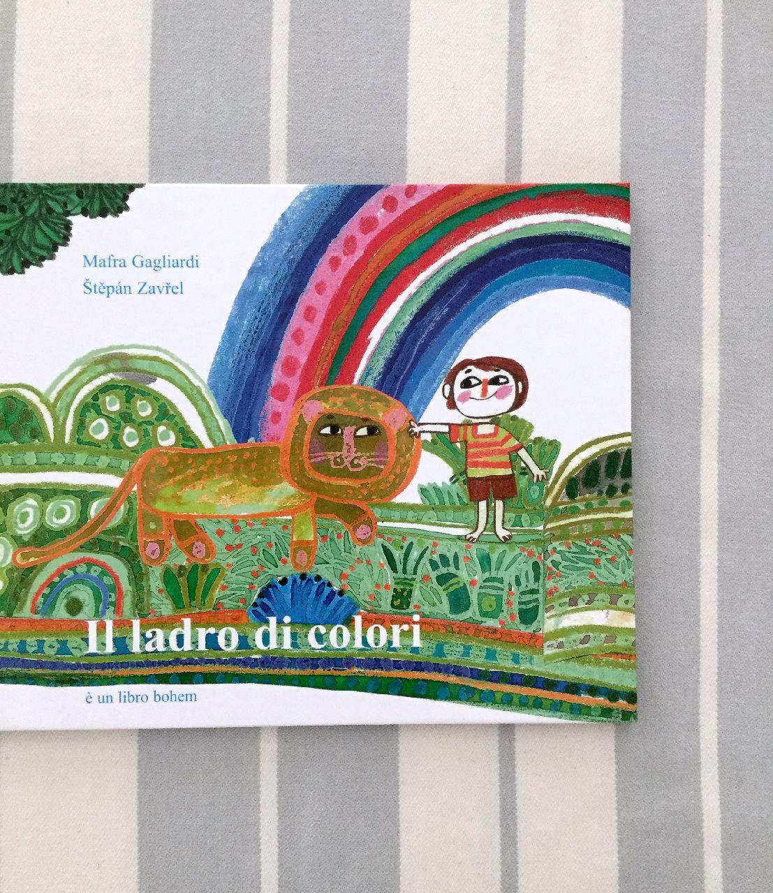 Mafra Gagliardi - Štepán Zavrel, Il ladro di colori, Bohem