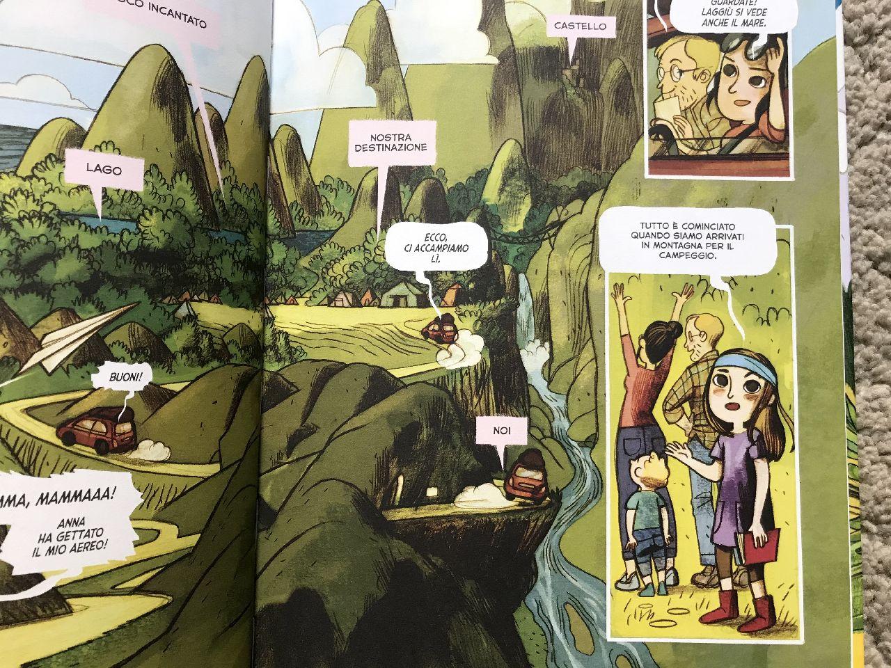 Tortolini - Colaone, Anna e la famosa avventura nel bosco fatato, Bao