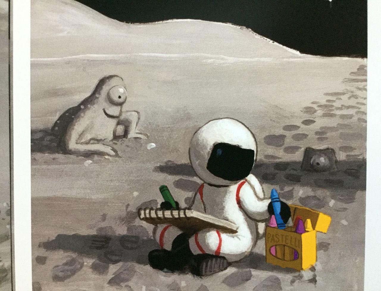 John Hare, Gita sulla luna, Babalibri