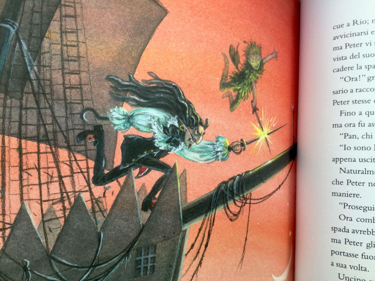 James Matthew Barrie, Peter Pan, Lupo Guido