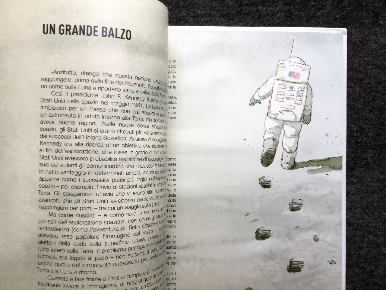 Brian Floca, L'uomo sulla luna, Jaca Book