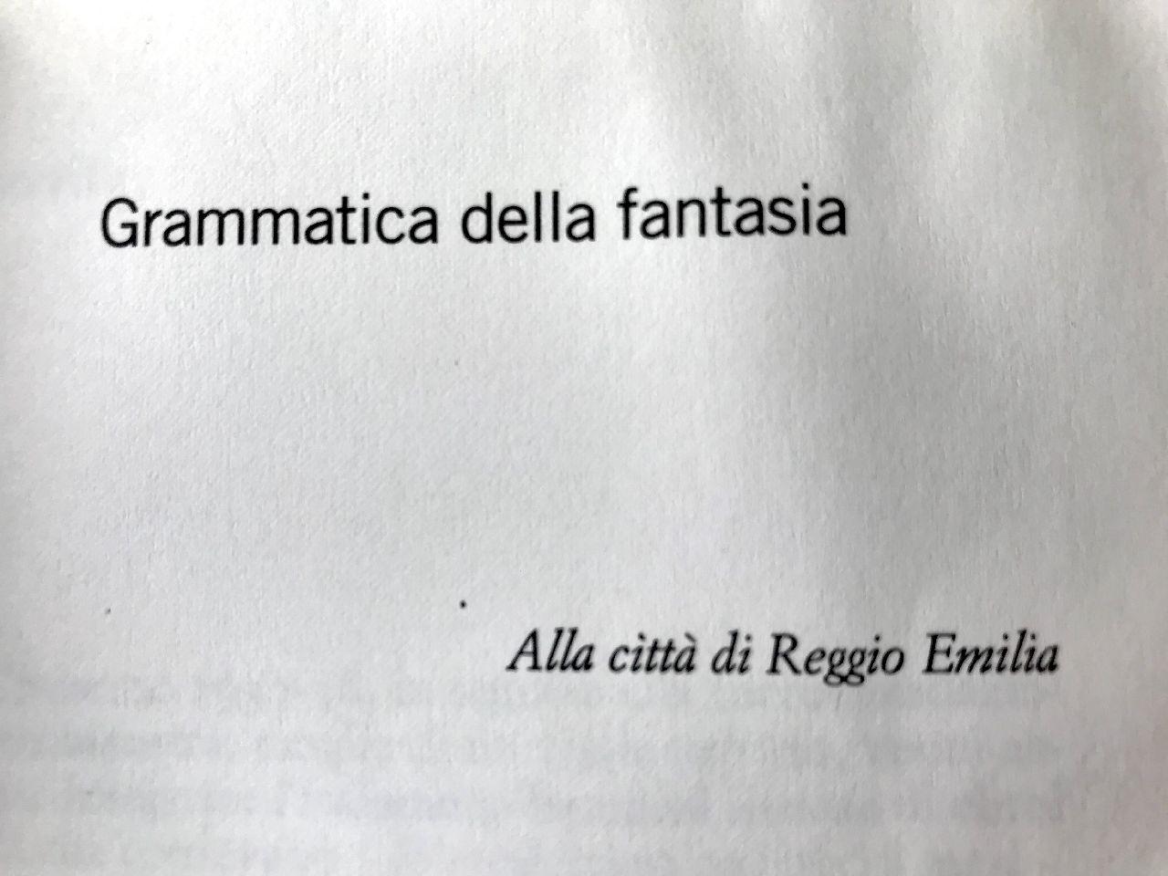 Gianni Rodari, Grammatica della fantasia, Einaudi