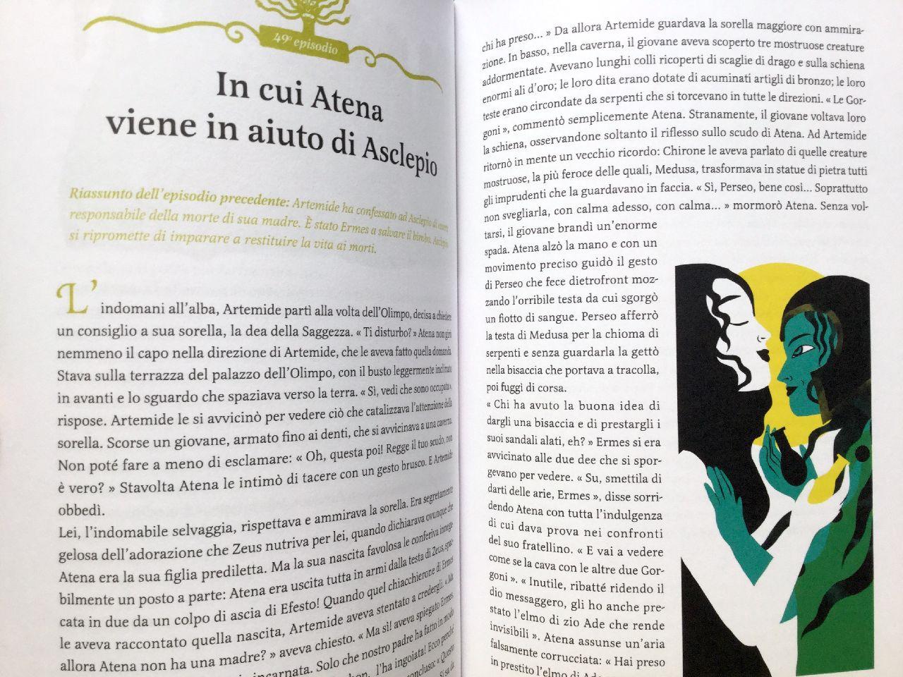 Murielle Szac - Olivia Sautreuil, Il romanzo di Artemide, L'ippoccampo