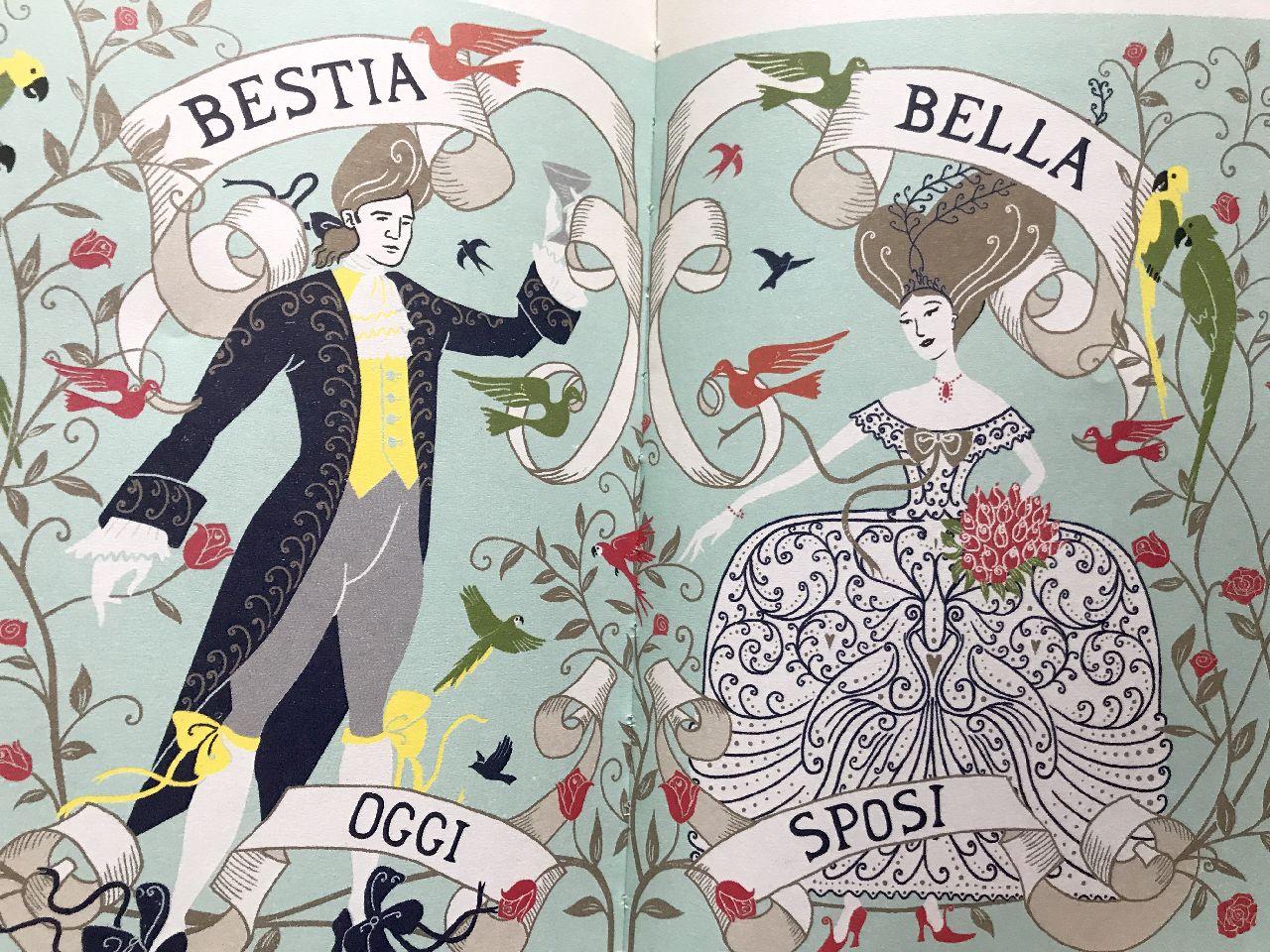 Minalima, La Bella e la Bestia, L'ippocampo - Scaffale Basso