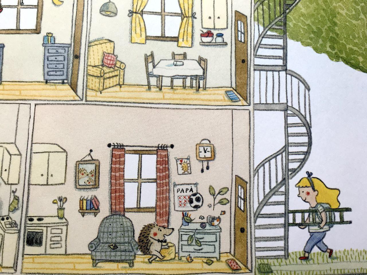 Marianne Dubuc, A casa mia a casa tua, La Margherita