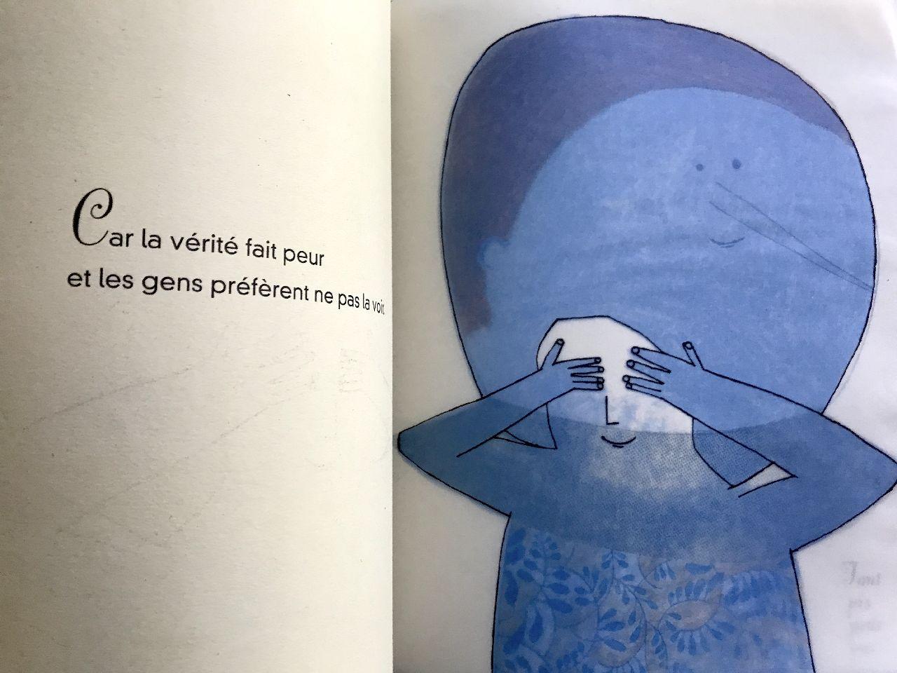Beatrice Alemagna, Gisèle de verre, Seuil