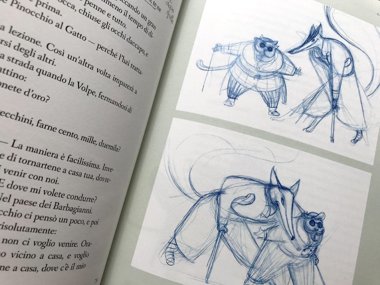 Carlo Collodi - Lorenzo Mattotti, Pinocchio, Bompiani