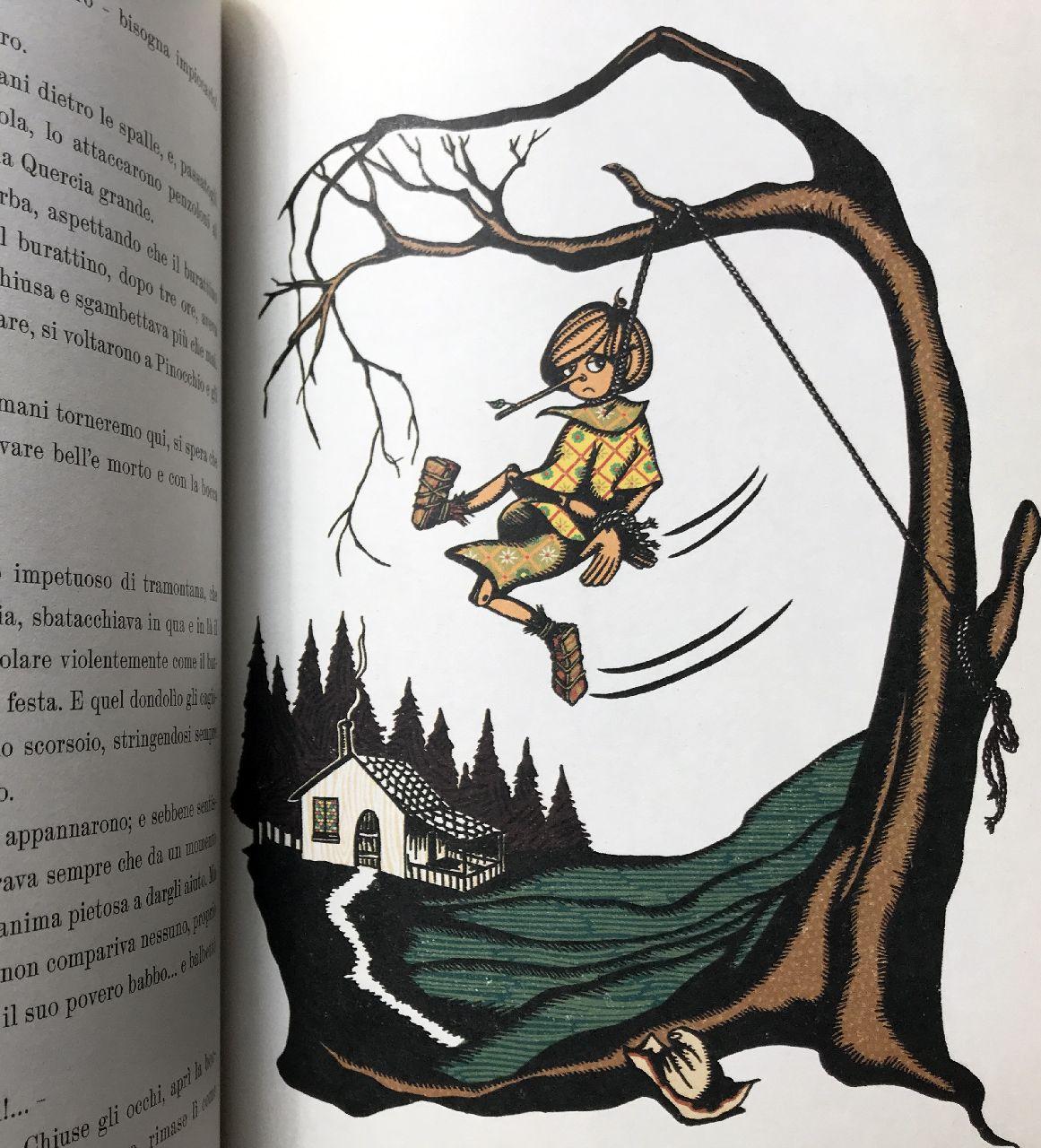 Carlo Collodi - Minalima, Pinocchio, L'ippocampo