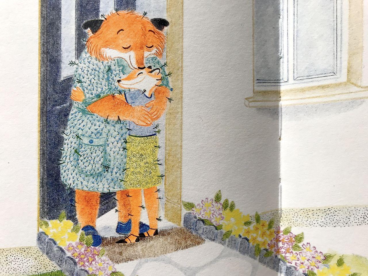Fleur Oury, Domenica, Il giralangolo