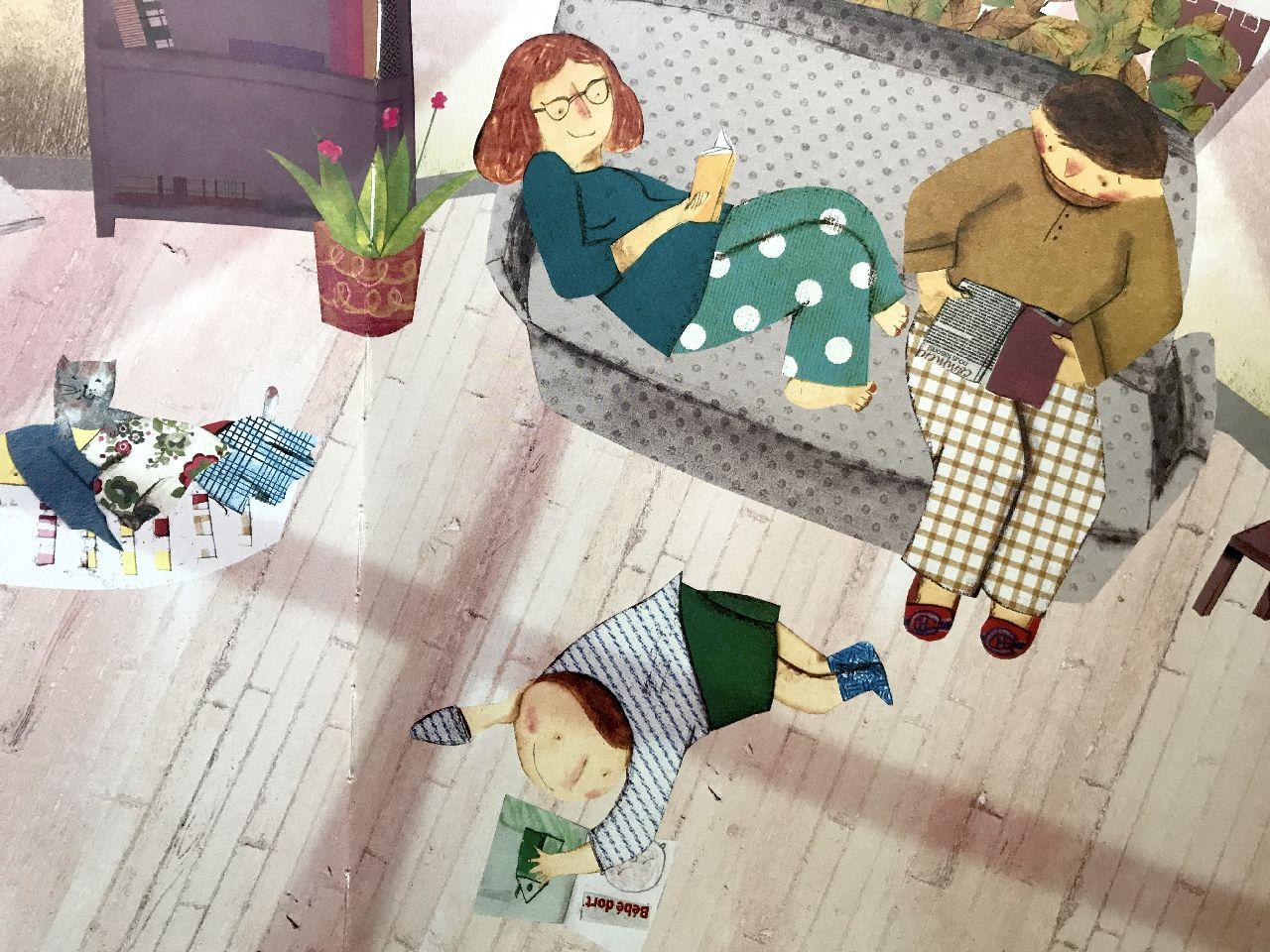 Danielle Marcotte - Josée, Bisaillon, Papà, mamma, i nostri libri e io, Pulce