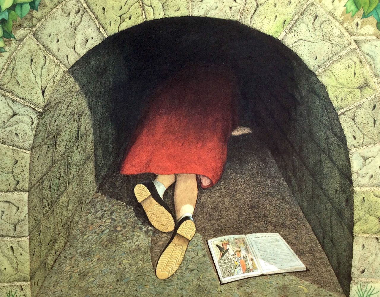 Anthony Browne, Il tunnel, Camelozampa