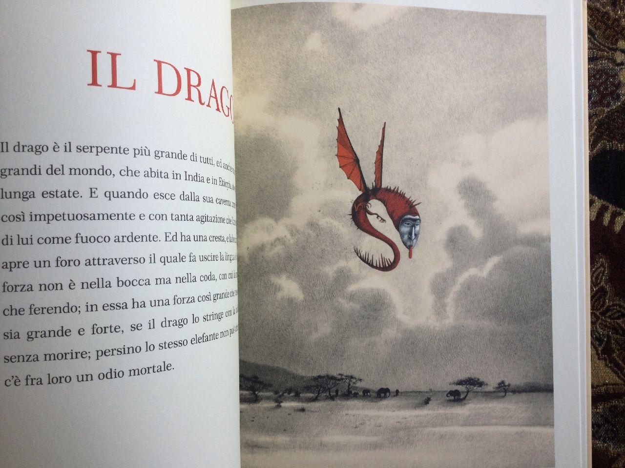 Brunetto Latini - Rébecca Dautremer, Tresor. Un bestiario medievale, Rizzoli