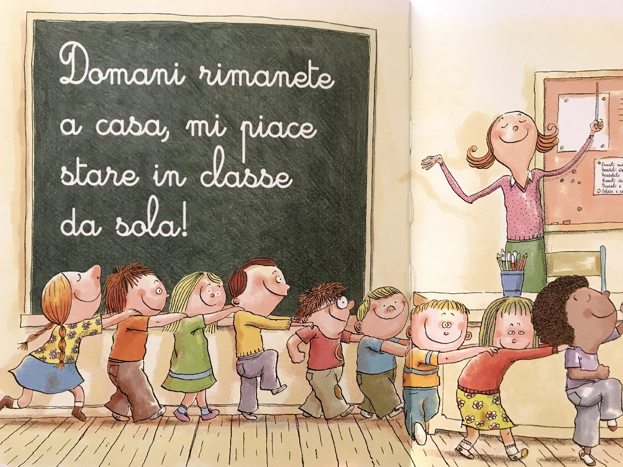 Noé Carlain - Ronan Badel, Tutto ciò che la maestra non ti dirà mai..., La Margherita