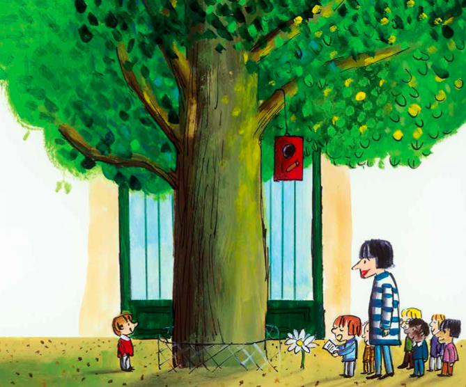 Antonio Sandoval - Emilio Urberuaga, L'albero della scuola, Kalandraka