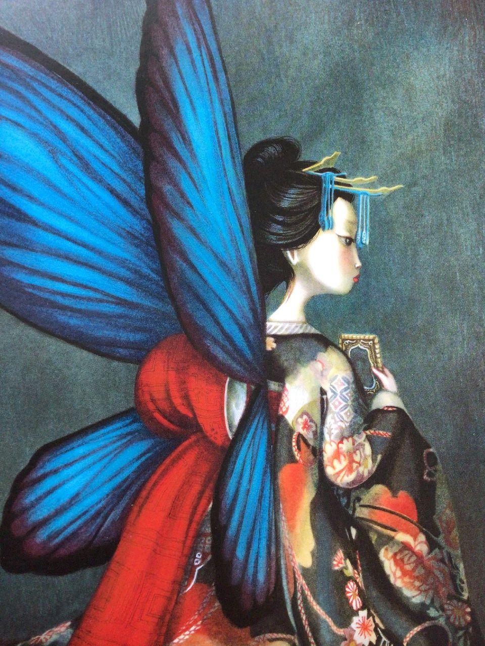 Benjamin Lacombe, Gli amanti farfalla