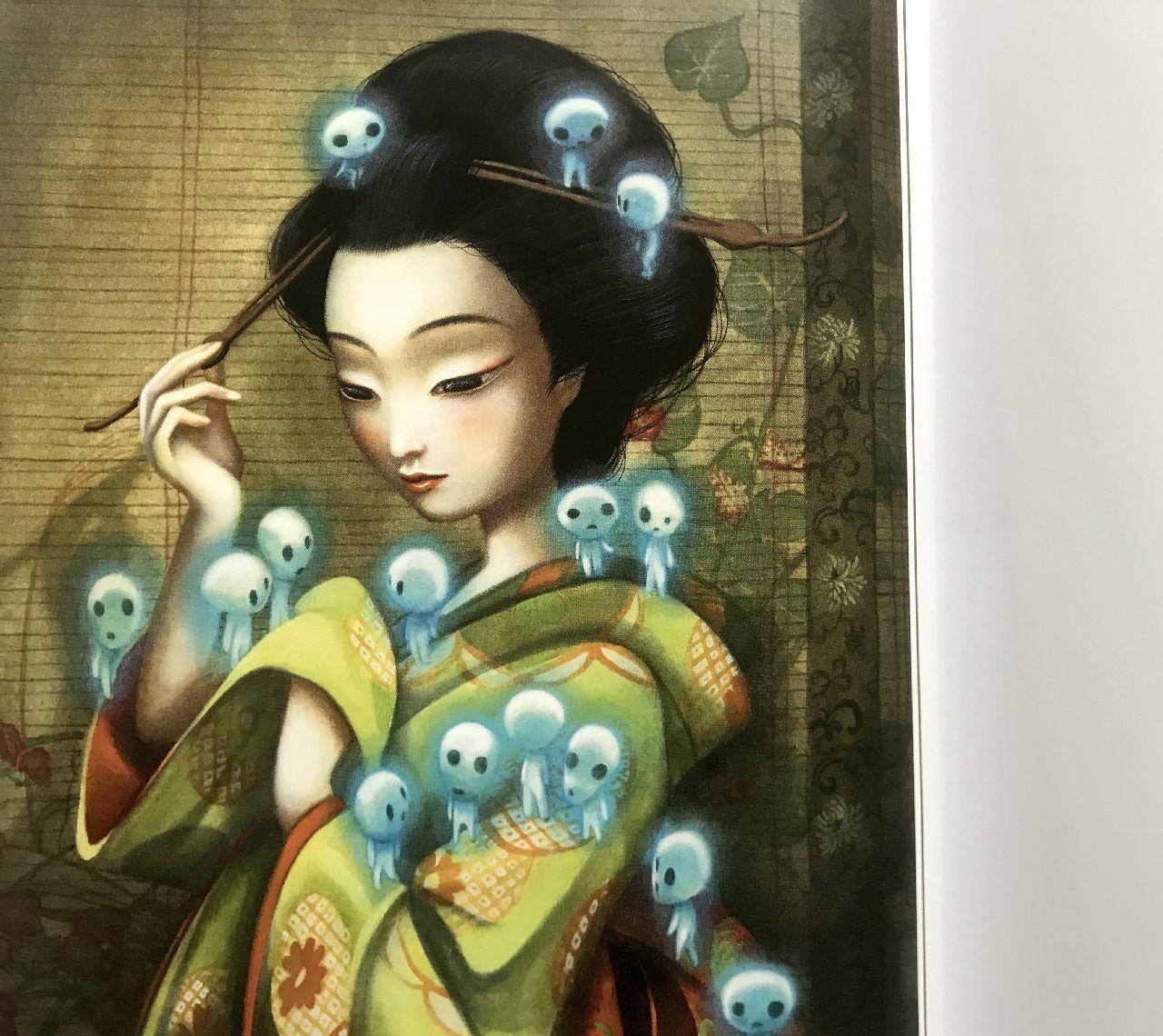 Lafcadio Hearn - Benjamin Lacombe, Spiriti e creature del Giappone, L'ippocampo