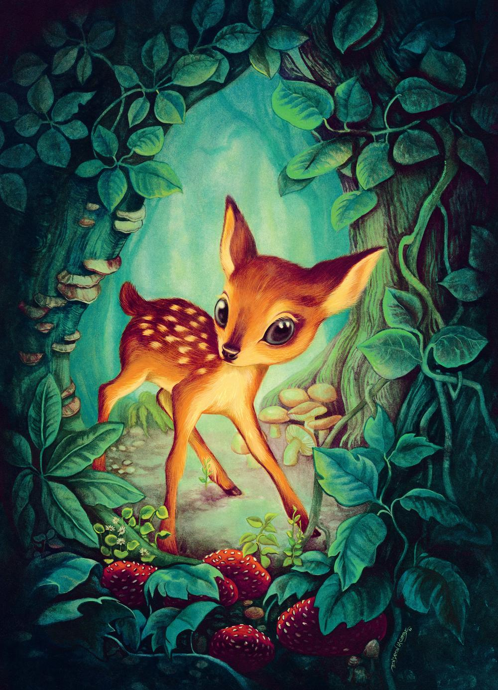 Benjamin Lacombe, Bambi